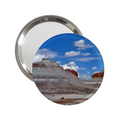 Petrified Forrest Tepees 2 25  Handbag Mirrors by trendistuff
