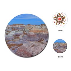 Painted Desert Playing Cards (round)  by trendistuff