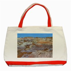 Painted Desert Classic Tote Bag (red)  by trendistuff