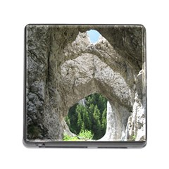 Limestone Formations Memory Card Reader (square) by trendistuff