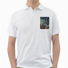 Huanglong Pools Golf Shirts by trendistuff