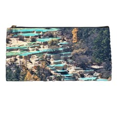 Huanglong Pools Pencil Cases by trendistuff