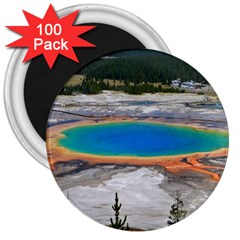 Grand Prismatic 3  Magnets (100 Pack) by trendistuff