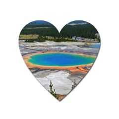 Grand Prismatic Heart Magnet by trendistuff