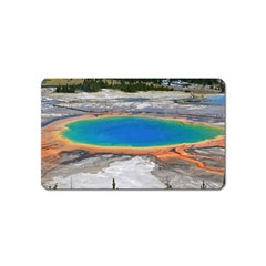 Grand Prismatic Magnet (name Card) by trendistuff
