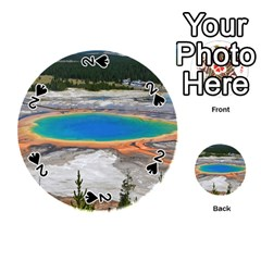 Grand Prismatic Playing Cards 54 (round)  by trendistuff