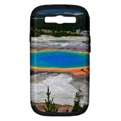 Grand Prismatic Samsung Galaxy S Iii Hardshell Case (pc+silicone) by trendistuff