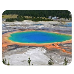 Grand Prismatic Double Sided Flano Blanket (medium)  by trendistuff