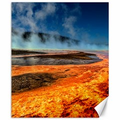 Fire River Canvas 8  X 10  by trendistuff