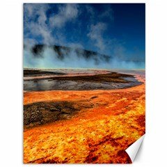 Fire River Canvas 36  X 48   by trendistuff