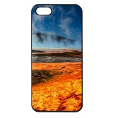 Fire River Apple Iphone 5 Seamless Case (black) by trendistuff