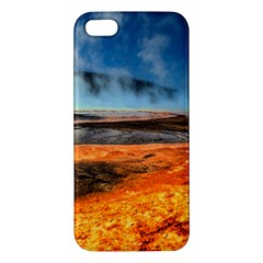 Fire River Apple Iphone 5 Premium Hardshell Case by trendistuff