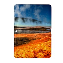 Fire River Samsung Galaxy Tab 2 (10 1 ) P5100 Hardshell Case  by trendistuff