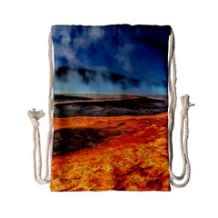 Fire River Drawstring Bag (small) by trendistuff