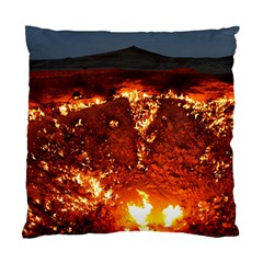 Door To Hell Standard Cushion Case (one Side)  by trendistuff