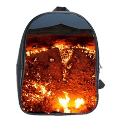 Door To Hell School Bags(large)  by trendistuff