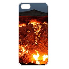 Door To Hell Apple Iphone 5 Seamless Case (white)
