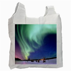 Aurora Borealis Recycle Bag (two Side)  by trendistuff