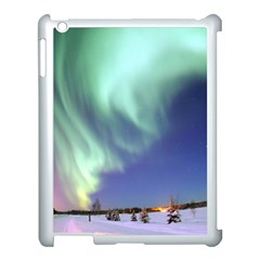 Aurora Borealis Apple Ipad 3/4 Case (white) by trendistuff