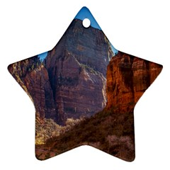 Zion National Park Star Ornament (two Sides)  by trendistuff
