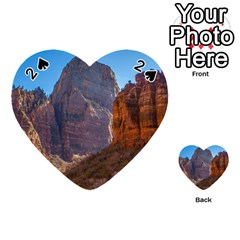 Zion National Park Playing Cards 54 (heart)