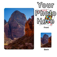Zion National Park Multi Purpose Cards (rectangle)  by trendistuff