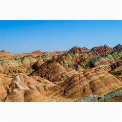 Zhangye Danxia Collage 12  X 18  by trendistuff