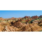 ZHANGYE DANXIA SORRY 3D Greeting Card (8x4)  Back