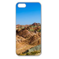 Zhangye Danxia Apple Seamless Iphone 5 Case (clear) by trendistuff