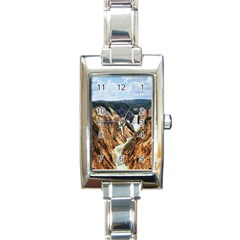 Yellowstone Gc Rectangle Italian Charm Watches by trendistuff