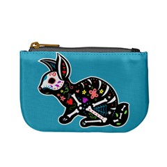 Dia De Los Conejos Coin Change Purse by Ellador