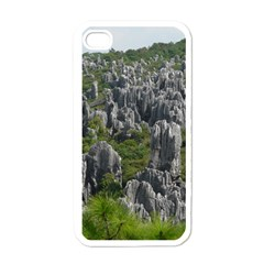 Stone Forest 1 Apple Iphone 4 Case (white) by trendistuff