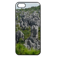 Stone Forest 1 Apple Iphone 5 Seamless Case (black) by trendistuff