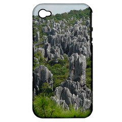 Stone Forest 1 Apple Iphone 4/4s Hardshell Case (pc+silicone) by trendistuff