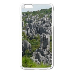 Stone Forest 1 Apple Iphone 6 Plus/6s Plus Enamel White Case by trendistuff