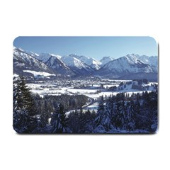 Snowy Mountains Small Doormat  by trendistuff