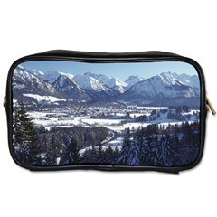 Snowy Mountains Toiletries Bags by trendistuff