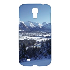 Snowy Mountains Samsung Galaxy S4 I9500/i9505 Hardshell Case by trendistuff