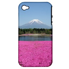 Shibazakura Apple Iphone 4/4s Hardshell Case (pc+silicone) by trendistuff