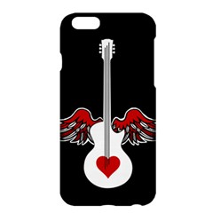 Flying Heart Guitar Apple Iphone 6 Plus/6s Plus Hardshell Case