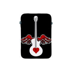 Flying Heart Guitar Apple Ipad Mini Protective Soft Case by waywardmuse