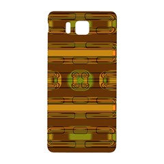 Modern Pattern Factory 01b Samsung Galaxy Alpha Hardshell Back Case by MoreColorsinLife