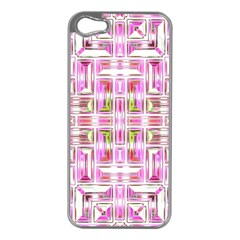 Modern Pattern Factory 01 Apple Iphone 5 Case (silver) by MoreColorsinLife