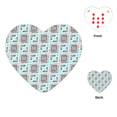 Modern Pattern Factory 04b Playing Cards (heart)