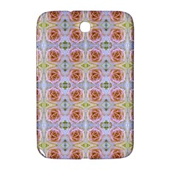 Pink Light Blue Pastel Flowers Samsung Galaxy Note 8 0 N5100 Hardshell Case  by Costasonlineshop