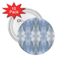 Ice Crystals Abstract Pattern 2 25  Buttons (10 Pack)  by Costasonlineshop