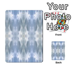 Ice Crystals Abstract Pattern Multi Purpose Cards (rectangle)  by Costasonlineshop