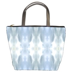 Ice Crystals Abstract Pattern Bucket Bags by Costasonlineshop
