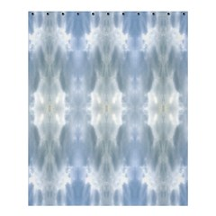 Ice Crystals Abstract Pattern Shower Curtain 60  X 72  (medium)  by Costasonlineshop