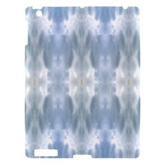 Ice Crystals Abstract Pattern Apple Ipad 3/4 Hardshell Case by Costasonlineshop
